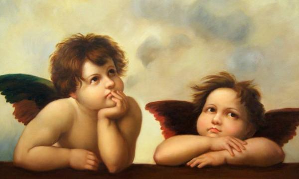 Разговор двух ангелов в небесной канцелярии...