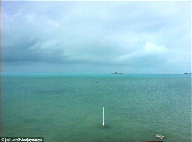 Сюрприз после урагана Ирма - исчезнувший океан!