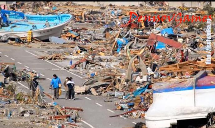 5 шокирующих съемок волн цунами! | 1