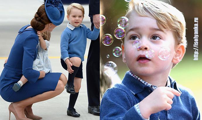 Почему родители одноклассников принца Джорджа против того, чтобы он учился в их школе?   2