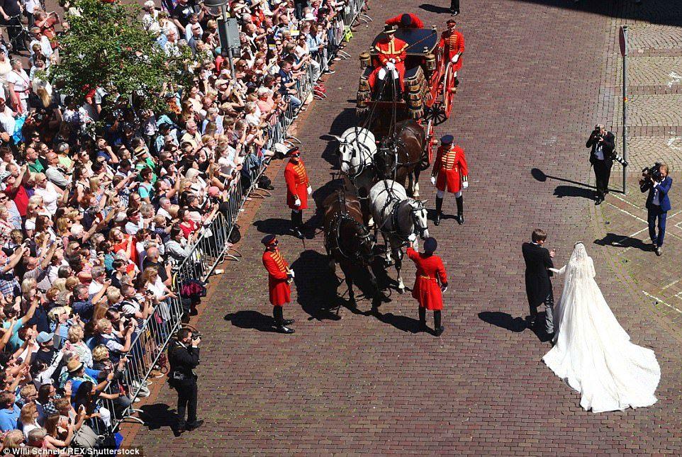 История красавицы и принца закончилась романтичной свадьбой! Но что омрачило брачное торжество?