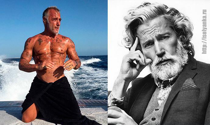 Мужчины-модели — возраст красоте не помеха! | 1