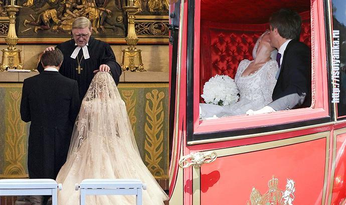 История красавицы и принца закончилась романтичной свадьбой! Но что омрачило брачное торжество?   1