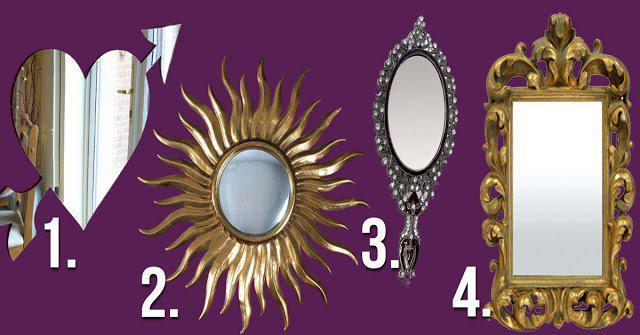 А какое зеркало выберешь ты? Небольшой тест для милых дам!