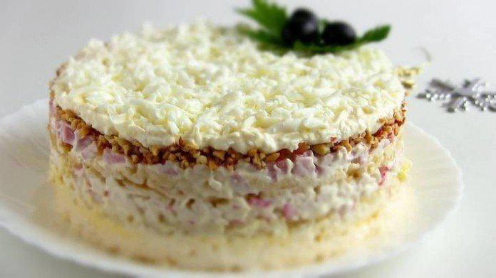 Вкусный и нежный салат «Снежная Королева» | 1