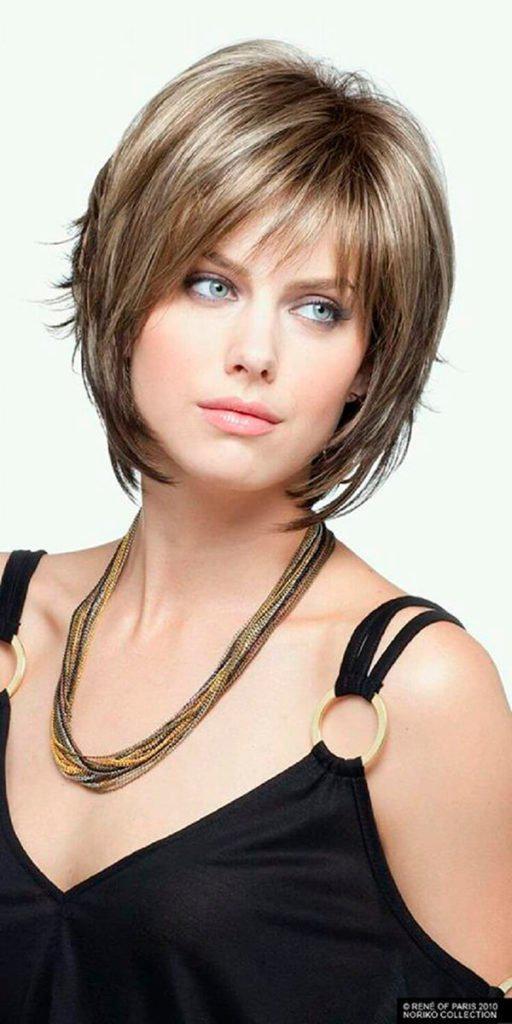 Модные прически на короткие волосы и волосы средней длины | 2