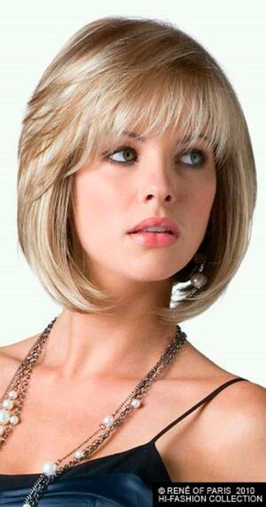Модные прически на короткие волосы и волосы средней длины | 12