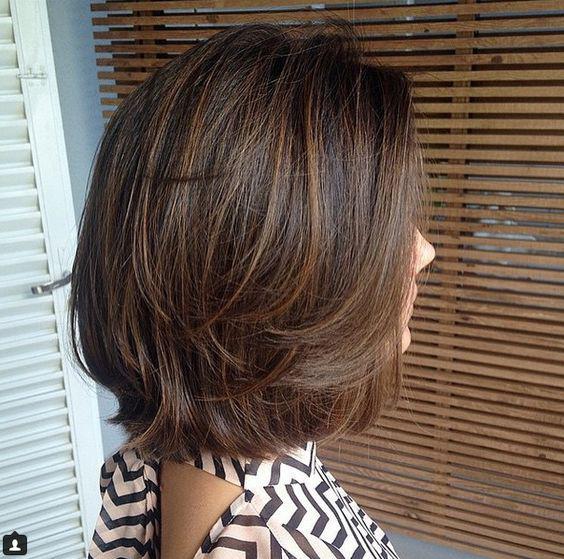 Градуированное каре для коротких и средних волос: 30 вариантов | 5