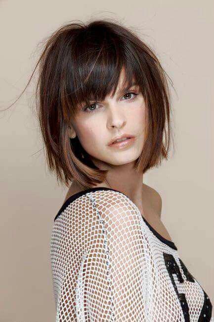 Градуированное каре для коротких и средних волос: 30 вариантов | 2