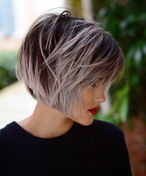 Градуированное каре для коротких и средних волос: 30 вариантов | 3