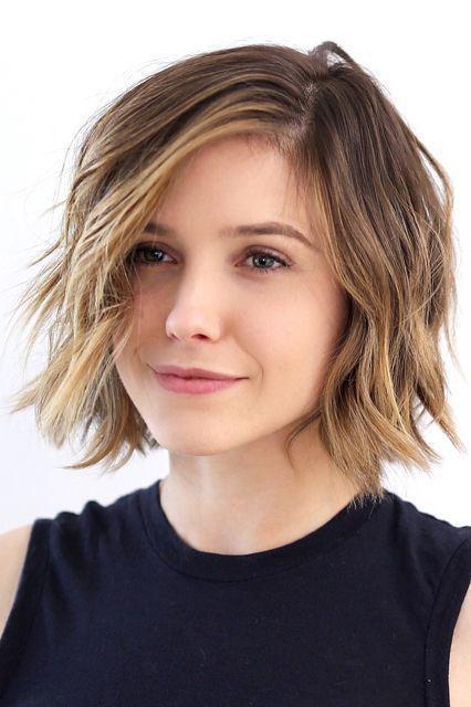 Градуированное каре для коротких и средних волос: 30 вариантов | 7