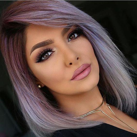 Градуированное каре для коротких и средних волос: 30 вариантов | 21