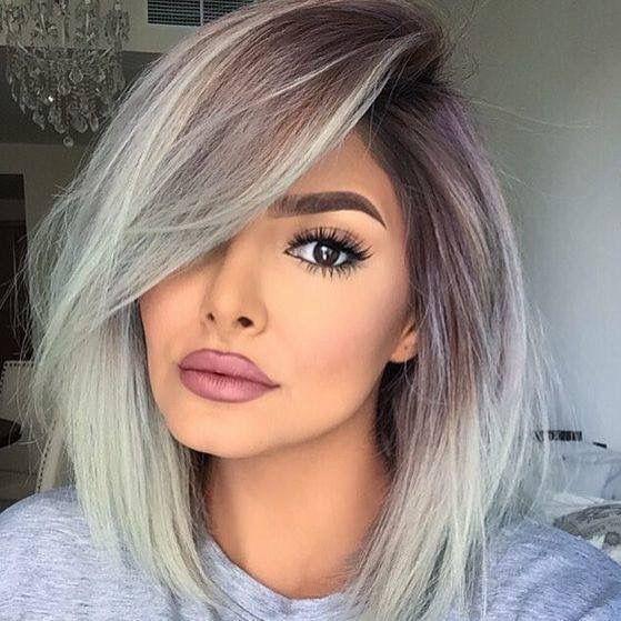 Градуированное каре для коротких и средних волос: 30 вариантов | 24