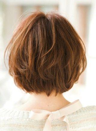 Градуированное каре для коротких и средних волос: 30 вариантов | 27