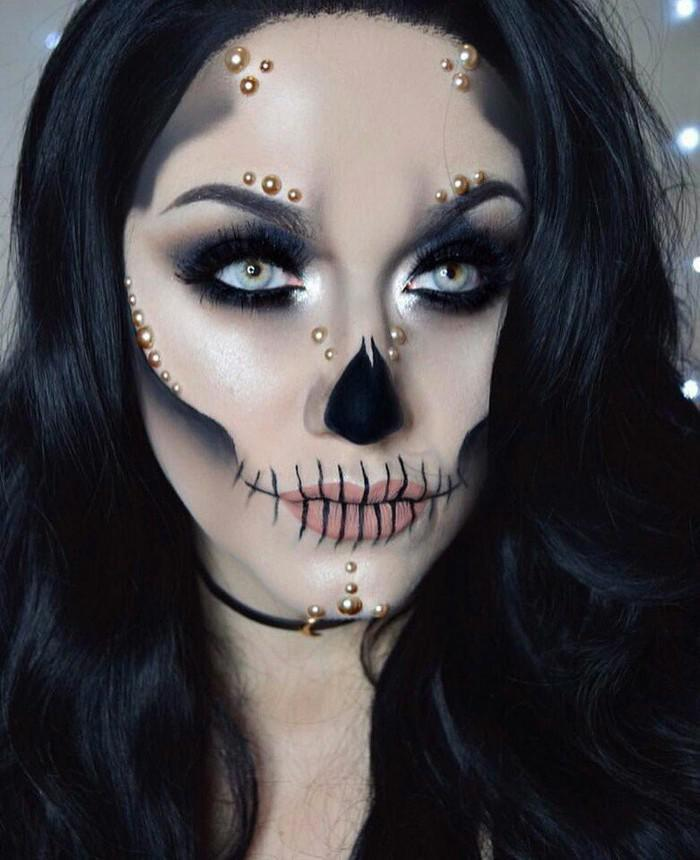 Идеи грима на Хэллоуин