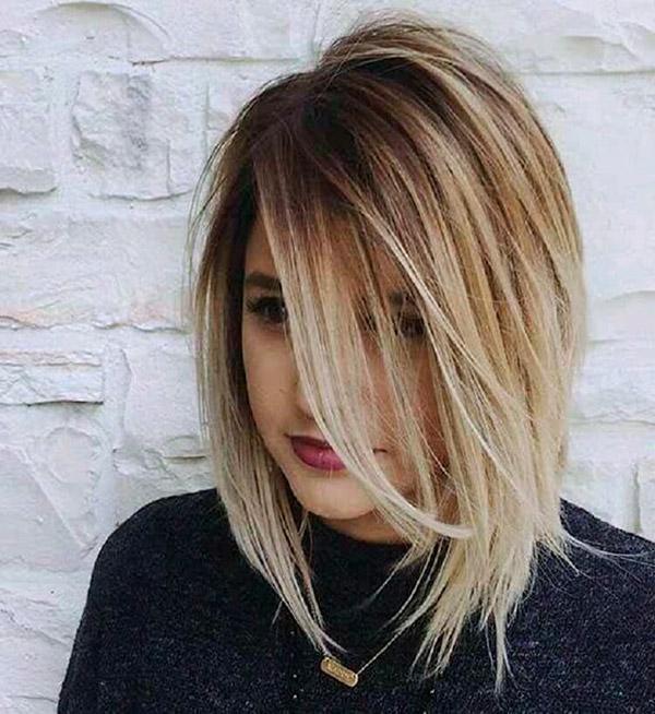 Модные прически на короткие волосы и волосы средней длины | 6