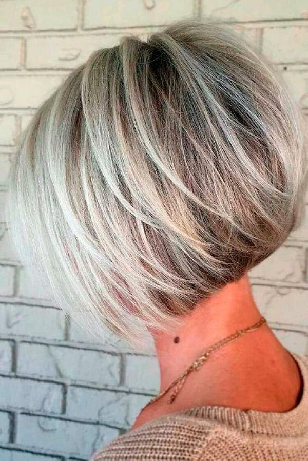 Модные прически на короткие волосы и волосы средней длины | 8