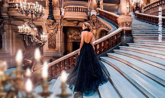 Вера Брежнева на сказочной фотосессии в Париже примерила несколько роскошных платьев | 1