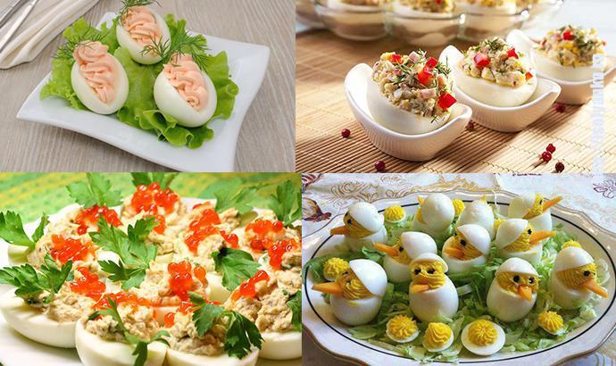 26 вариантов начинок для фаршированных яиц. Настоящее украшение праздничного стола! | 1