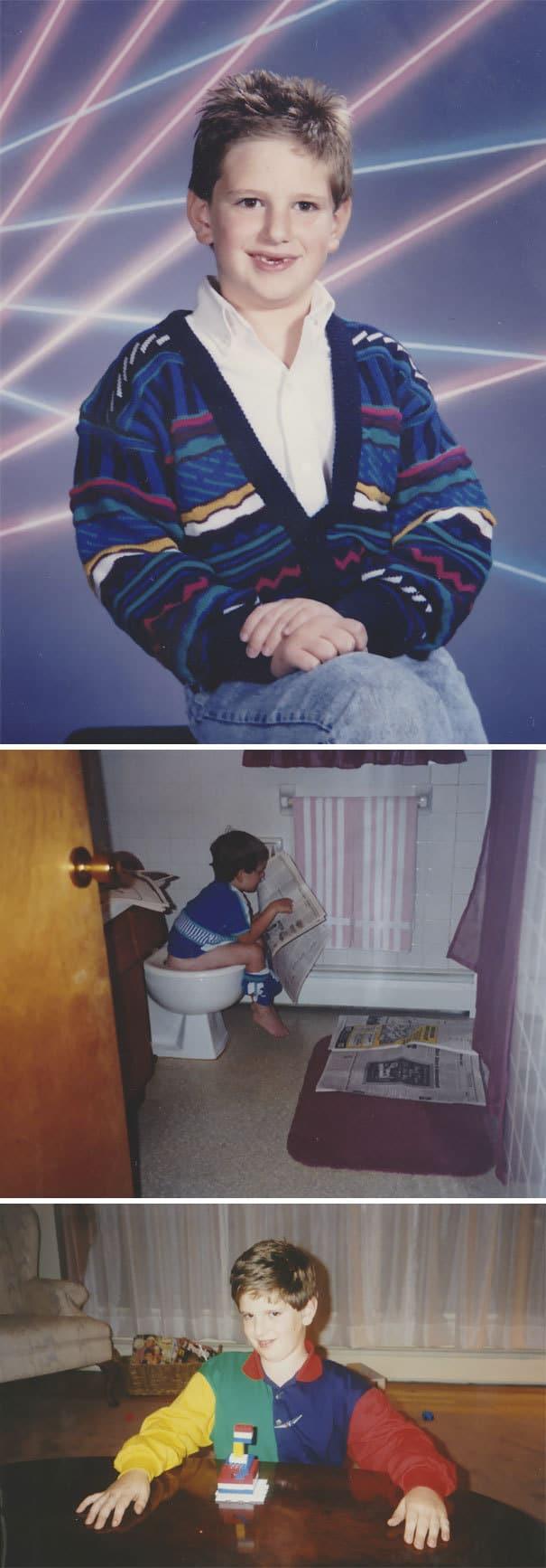 Интернет-пользователи выкладывают детские фото своих супругов — это безумно смешно!