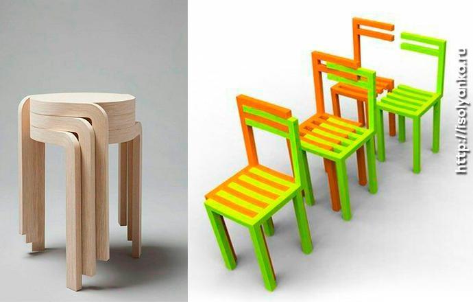 Складные стулья для вашего интерьера | 77