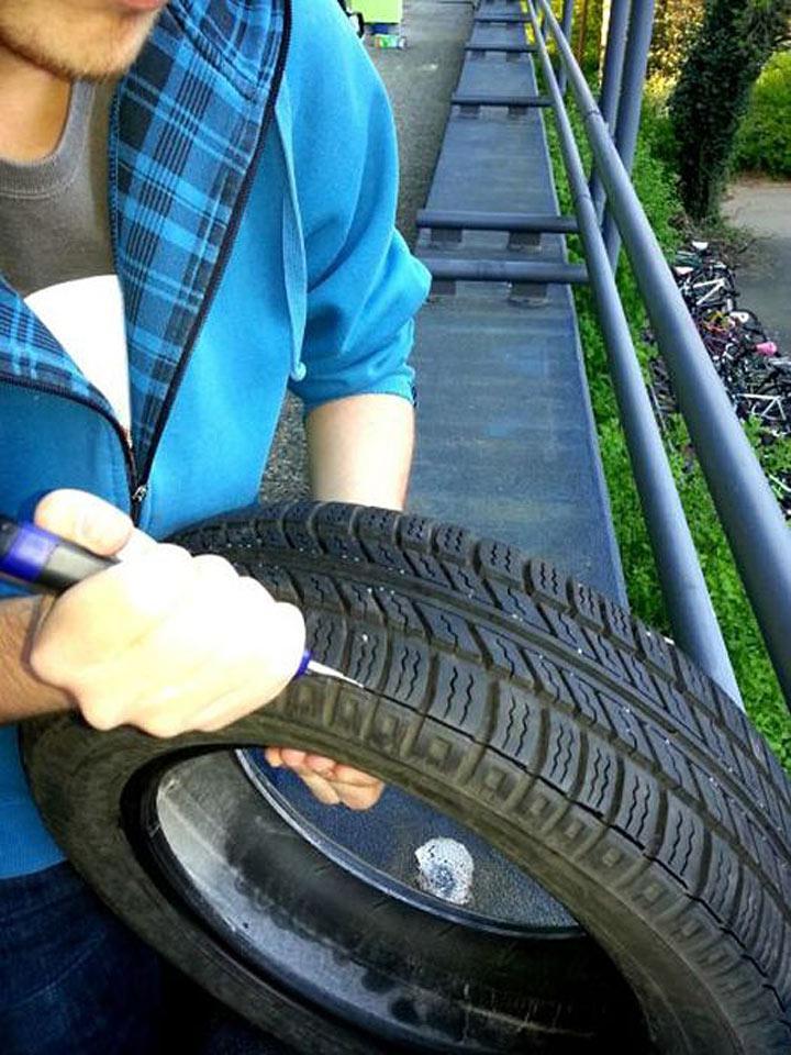Как нас обманывают продавцы шин, продавая старые шины как новые! | 5