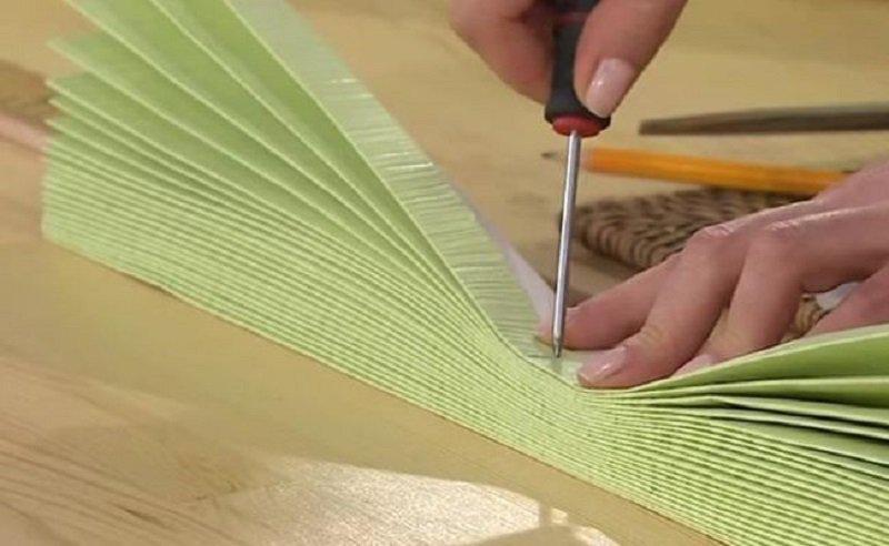 Как превратить кусок обоев в произведение искусства!
