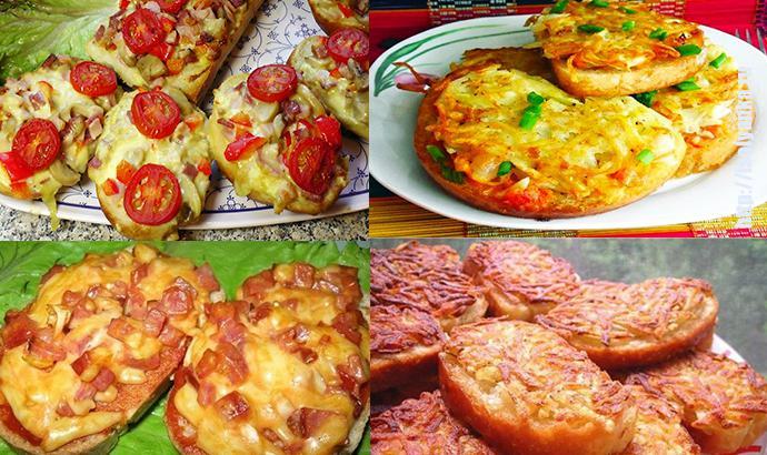 7 рецептов горячих бутербродов на завтрак из того, что завалялось в холодильнике! | 1