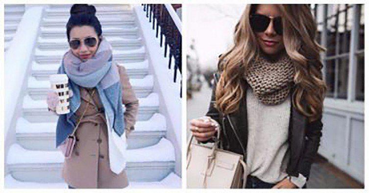 Так нужно правильно носить шарф. Советы которые помогут выглядеть стильно! | 4