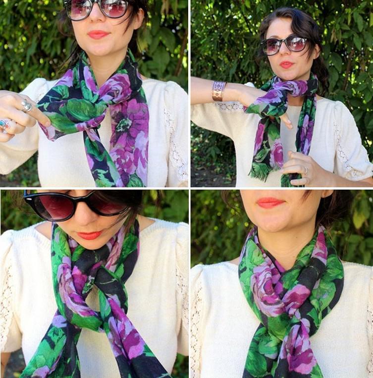 Так нужно правильно носить шарф. Советы которые помогут выглядеть стильно! | 8