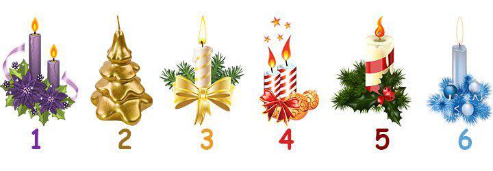 Выбери свечу и узнай, что тебе подарит Новый Год. Старинное новогоднее гадание