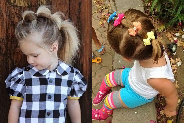 Для маленьких принцесс: 35 шикарных причесок на короткие волосы! | 1