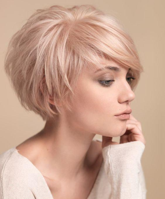 16 стильных идей стрижки каскад на короткие волосы | 1