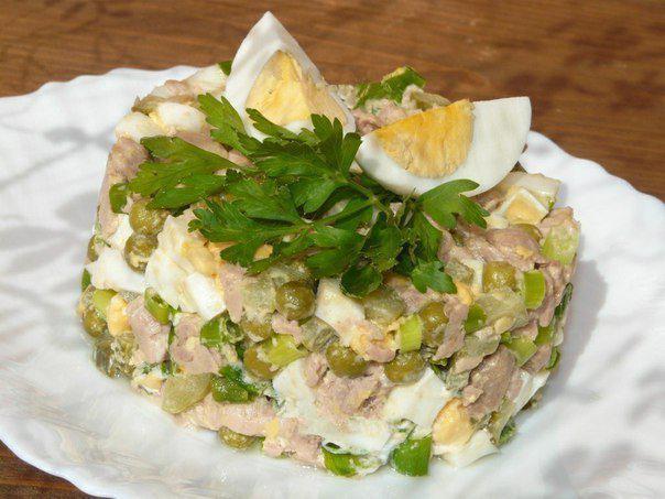 9 салатов для новогоднего стола