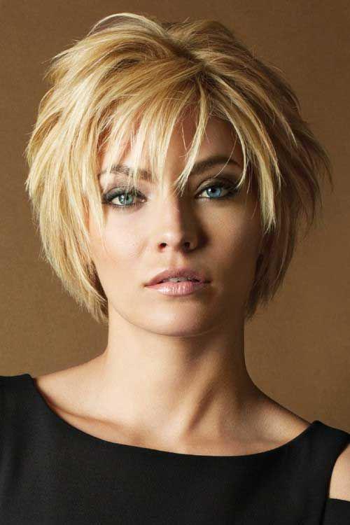 16 стильных идей стрижки каскад на короткие волосы | 10