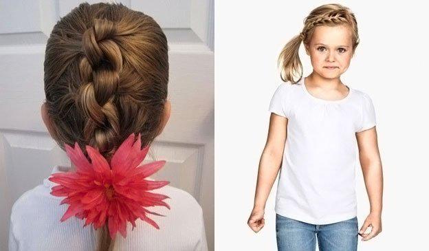 Для маленьких принцесс: 35 шикарных причесок на короткие волосы! | 11