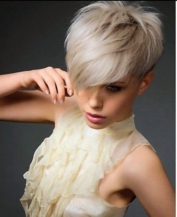 16 стильных идей стрижки каскад на короткие волосы | 11