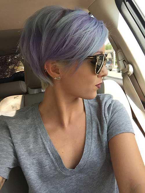 16 стильных идей стрижки каскад на короткие волосы | 12