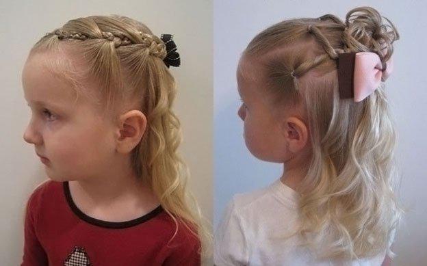 Для маленьких принцесс: 35 шикарных причесок на короткие волосы! | 13