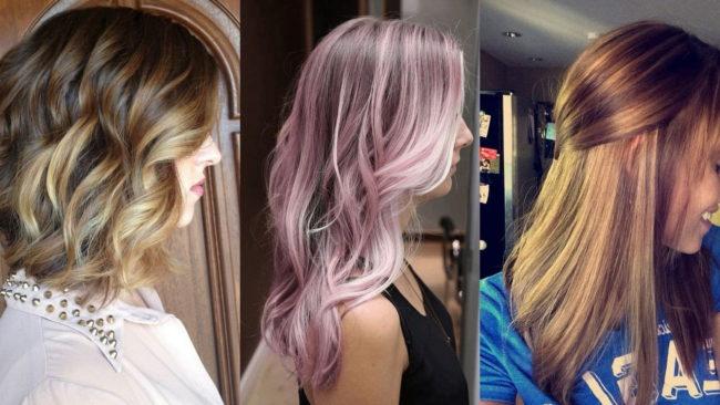 Самые модные тенденции окрашивания волос в 2018 году | 13