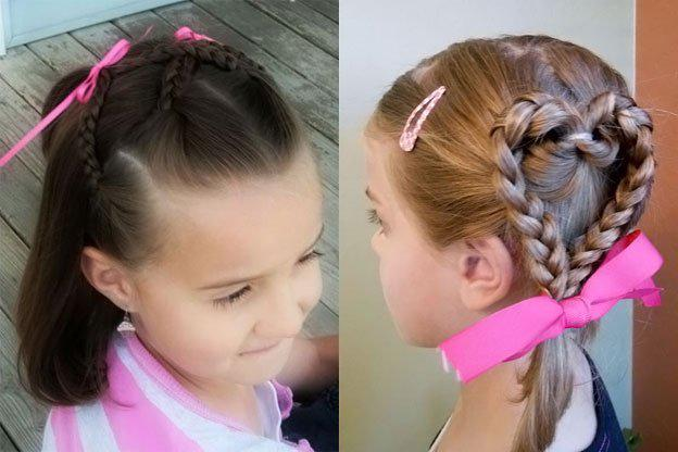 Для маленьких принцесс: 35 шикарных причесок на короткие волосы! | 14