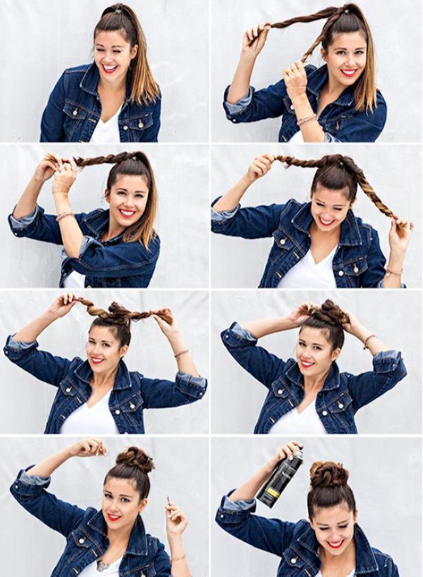 Как быстро и красиво уложить волосы? | 11