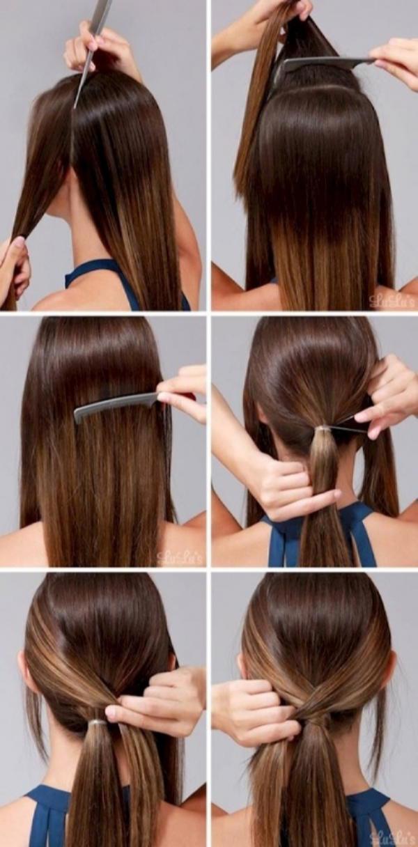 Как быстро и красиво уложить волосы? | 13