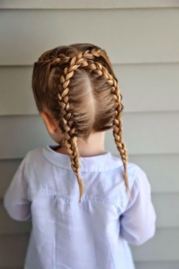Для маленьких принцесс: 35 шикарных причесок на короткие волосы! | 16