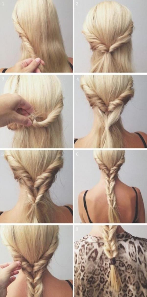 Как быстро и красиво уложить волосы? | 14