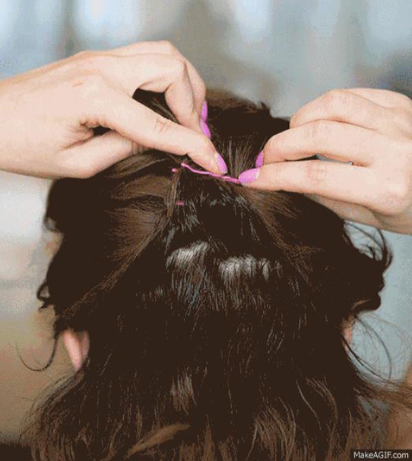 Как быстро и красиво уложить волосы? | 15