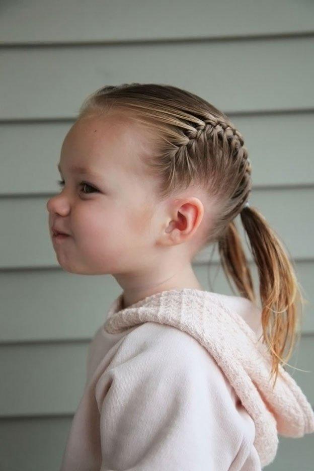 Для маленьких принцесс: 35 шикарных причесок на короткие волосы! | 18