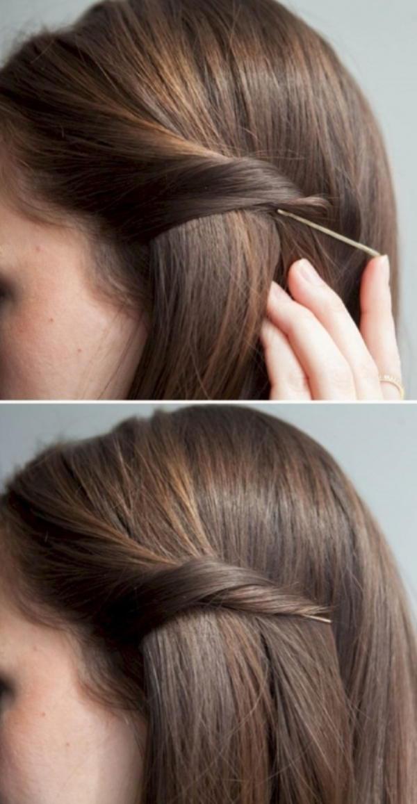 Как быстро и красиво уложить волосы? | 16