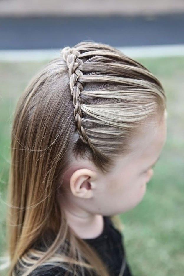 Для маленьких принцесс: 35 шикарных причесок на короткие волосы! | 19