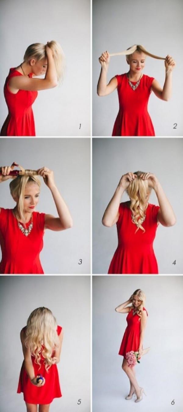 Как быстро и красиво уложить волосы? | 2